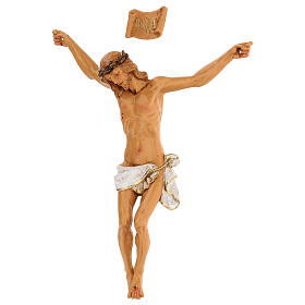 Cristo in croce Fontanini 21 cm in resina s3