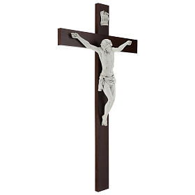 Crucifijo Carrara con Cuerpo de Cristo de resina Fontanini 100x56 cm s5