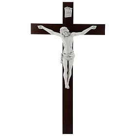 Crucifix Carrare avec Corps de Christ en résine Fontanini 100x56 cm s1