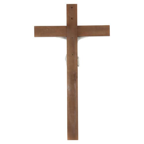 Crocifisso Carrara con Corpo di Cristo in resina Fontanini 100x56 cm 6