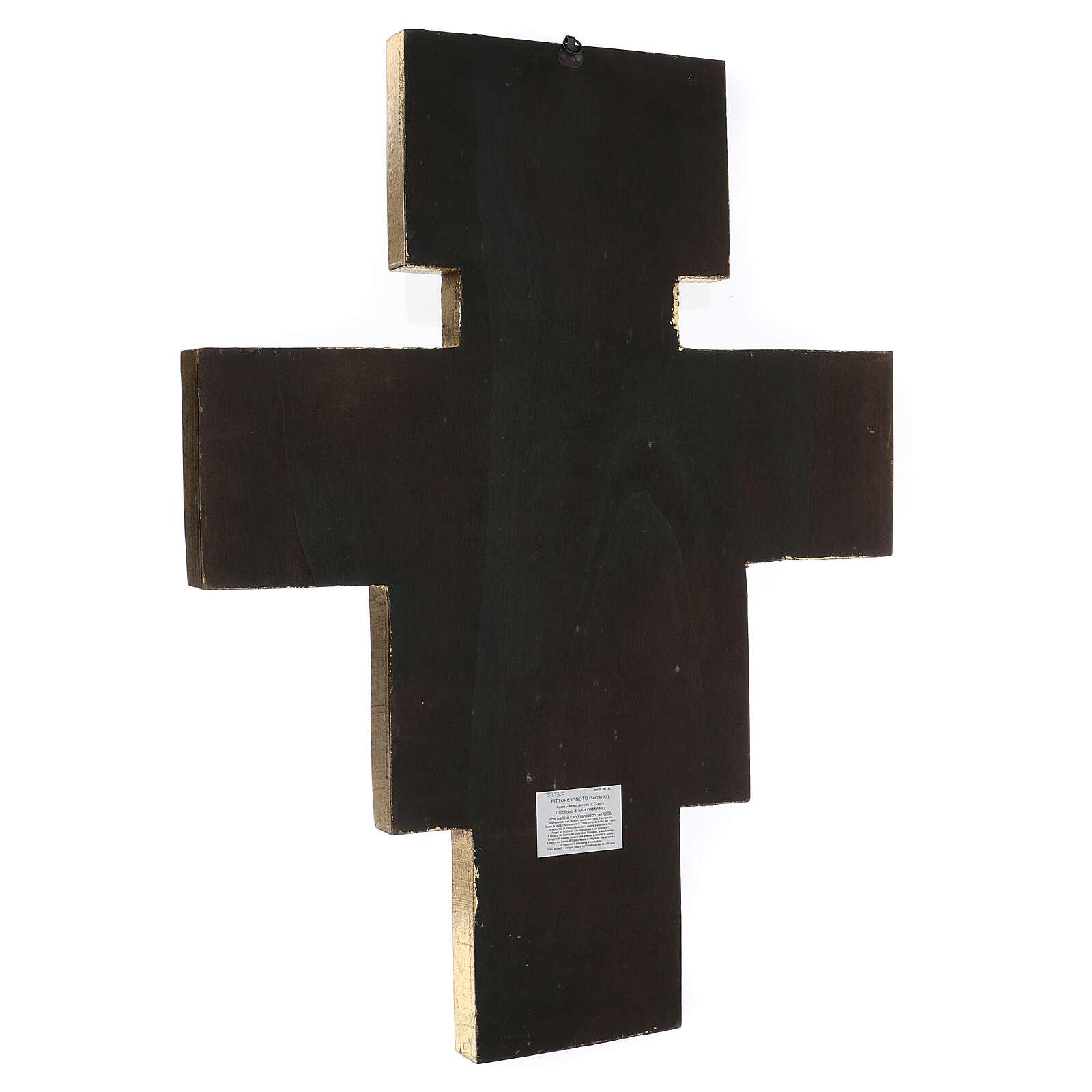 Crucifijo San Damián imprenta 75x60 cm 4