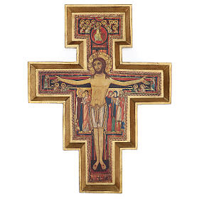Crucifijo San Damián imprenta 75x60 cm s1