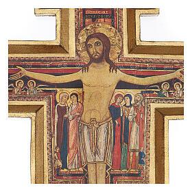 Crucifijo San Damián imprenta 75x60 cm s2