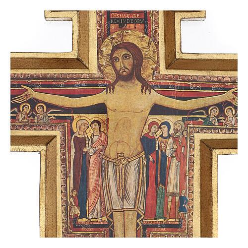 Crucifijo San Damián imprenta 75x60 cm 2