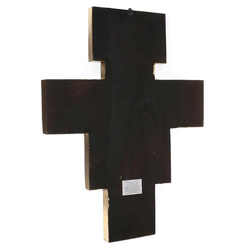 Crucifijo San Damián imprenta 75x60 cm 3