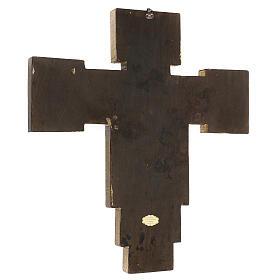 Crucifijo Santa Cruz de Cimabue 60x55 cm s3
