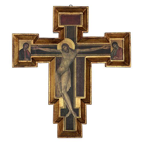Crucifijo Santa Cruz de Cimabue 60x55 cm 1