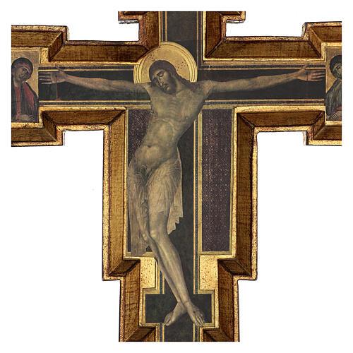 Crucifijo Santa Cruz de Cimabue 60x55 cm 2
