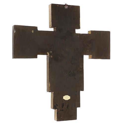 Crucifijo Santa Cruz de Cimabue 60x55 cm 3