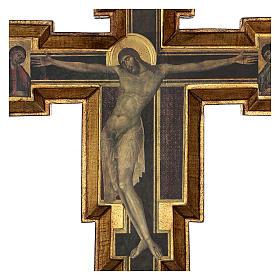 Crocifisso Santa Croce di Cimabue 60x55 cm s2