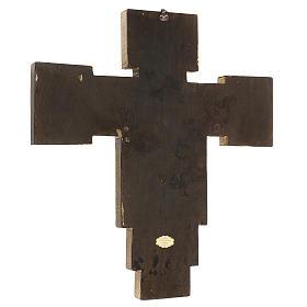 Crocifisso Santa Croce di Cimabue 60x55 cm s3