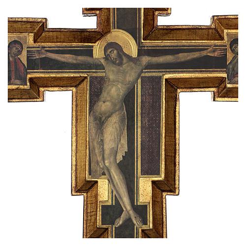 Crocifisso Santa Croce di Cimabue 60x55 cm 2