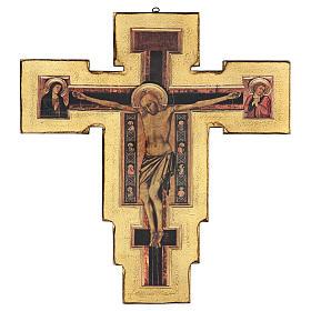 Crocifisso Santa Maria Novella di Giotto 60x60 cm s1