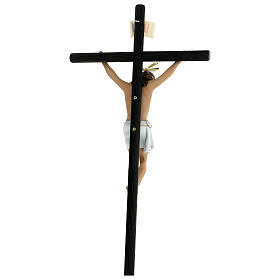 Crucifix pâte à bois 70 cm déc. élégante avec croix Motlla s7