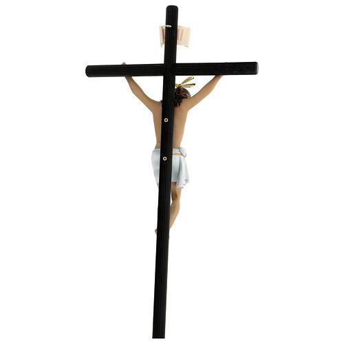 Crucifix pâte à bois 70 cm déc. élégante avec croix Motlla 7
