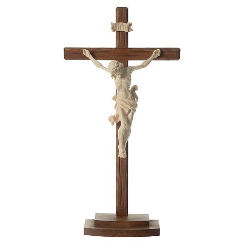 Crucifijo de mesa natural 1