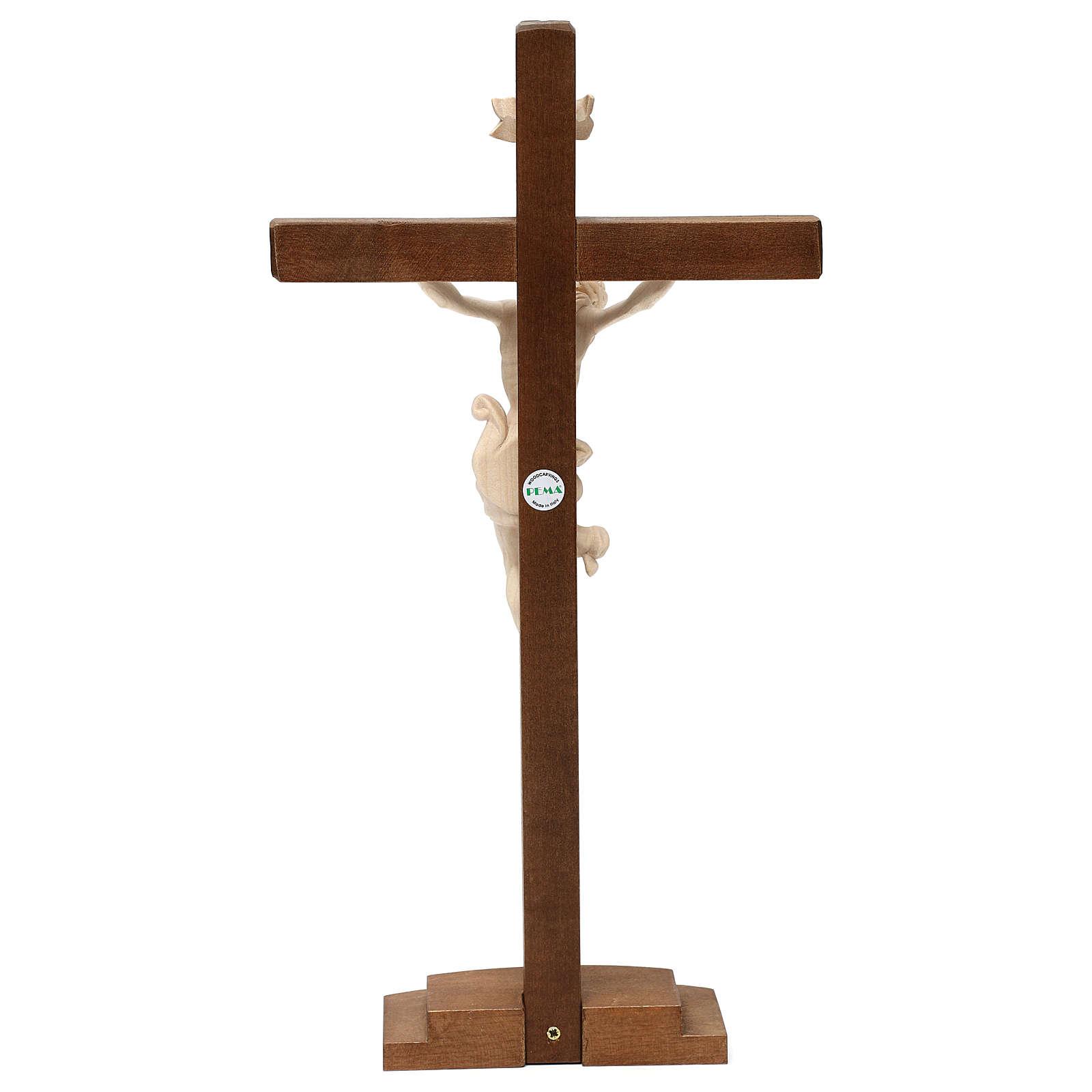 Natural ashwood crucifix 4