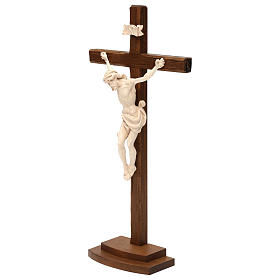 Natural ashwood crucifix s3