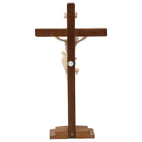 Natural ashwood crucifix s5