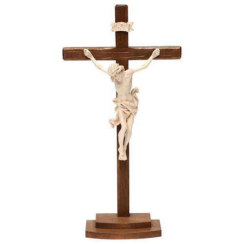 Natural ashwood crucifix 1