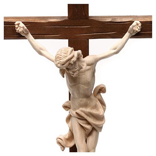 Natural ashwood crucifix 2