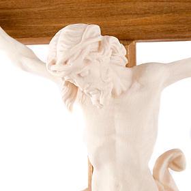 Natural wood crucifix s2