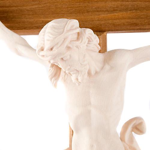 Natural wood crucifix 2