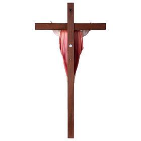 Gestiegene Kristus auf nicht- gekruemmten Kreuz s5
