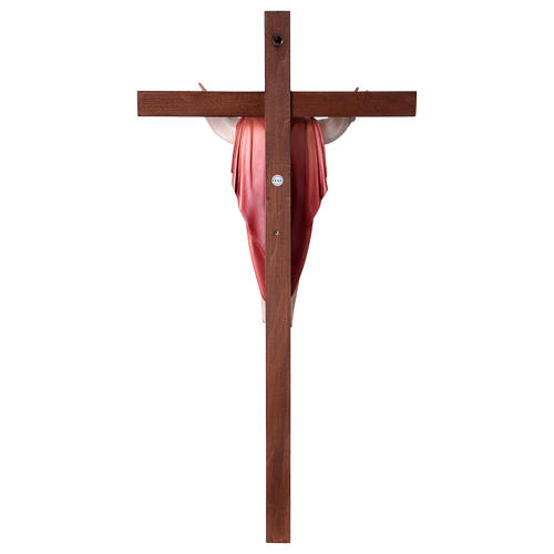 Gestiegene Kristus auf nicht- gekruemmten Kreuz 5