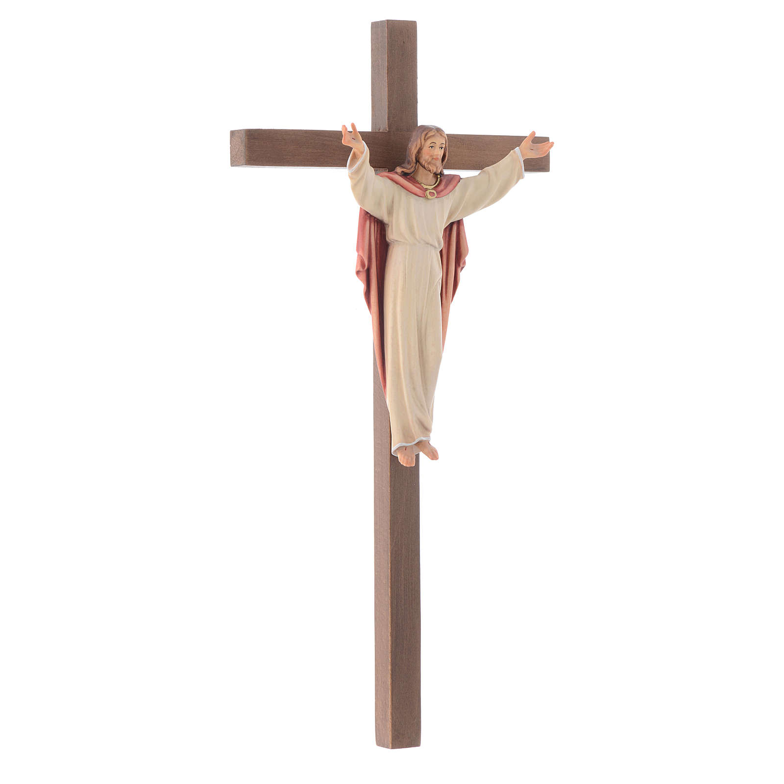 Crucifijo Resucitado cruz recta 4