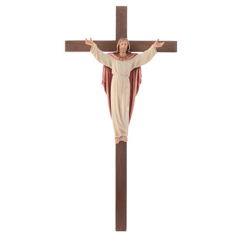 Crucifijo Resucitado cruz recta 1