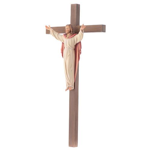 Crucifijo Resucitado cruz recta 2