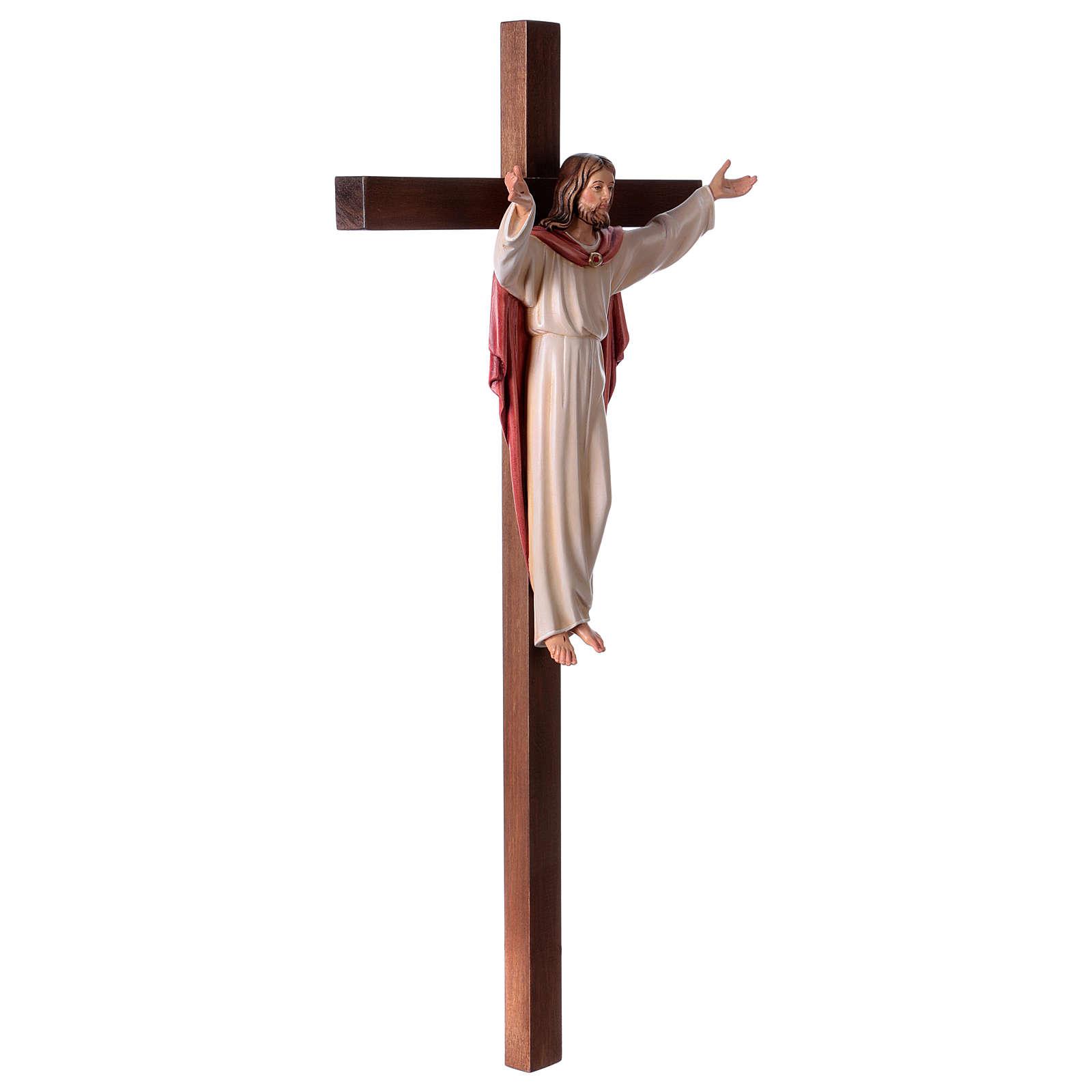 Krucyfiks Zmartwychwstały krzyż prosty 4