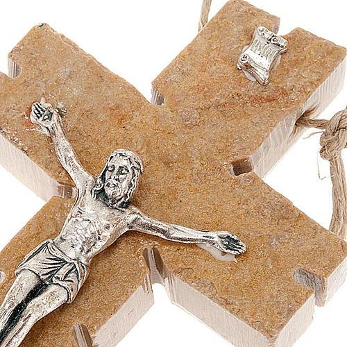Crocefisso Medjugorje in pietra 2