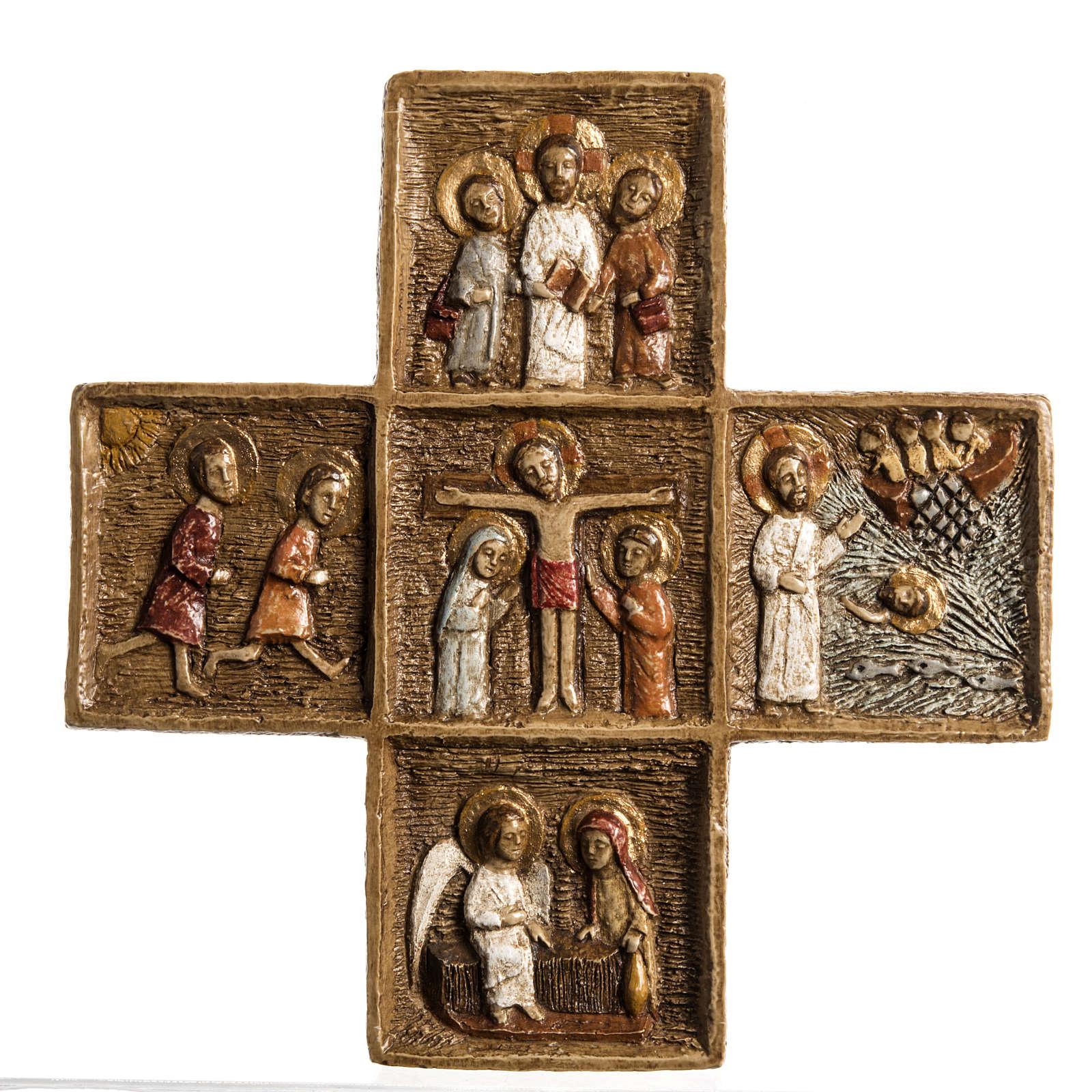 Croix Pascale 16 cm pierre Bethléem 4