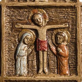 Croix Pascale 16 cm pierre Bethléem s4