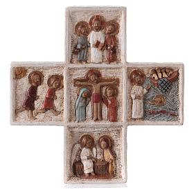 Croix Pascale 16 cm pierre Bethléem s5