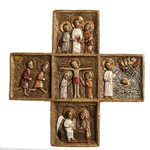 Croix Pascale 16 cm pierre Bethléem 1