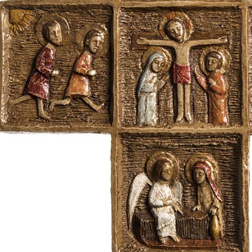 Croix Pascale 16 cm pierre Bethléem 2