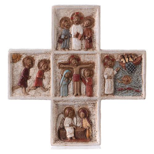 Croix Pascale 16 cm pierre Bethléem 5