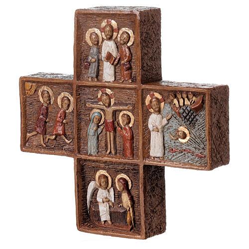 Croix Pascale 16 cm pierre Bethléem 3