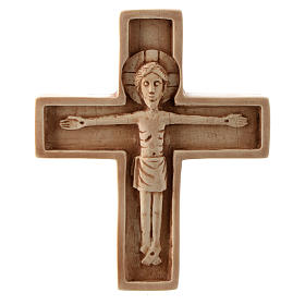 Stone crucifixes: Crucifix in ivory stone, Bethleem.