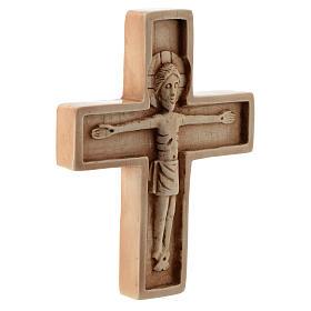 Crucifijo color marfil piedra Bethléem s3