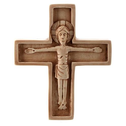 Crucifijo color marfil piedra Bethléem 1