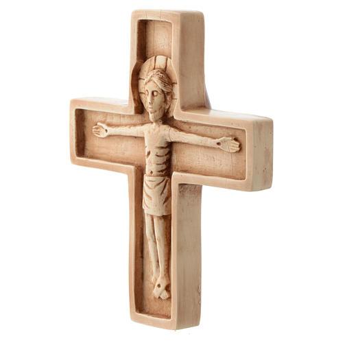 Crucifix ivoirine moyen pierre Bethléem 2
