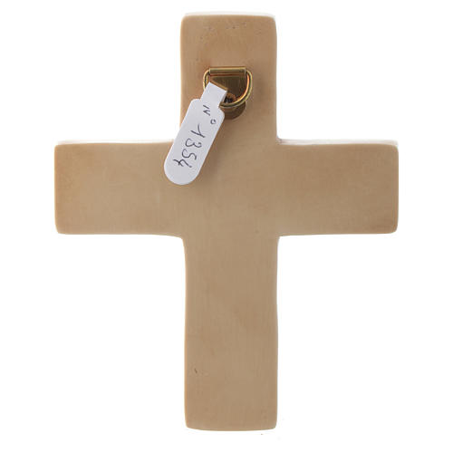 Crucifix ivoirine moyen pierre Bethléem 4