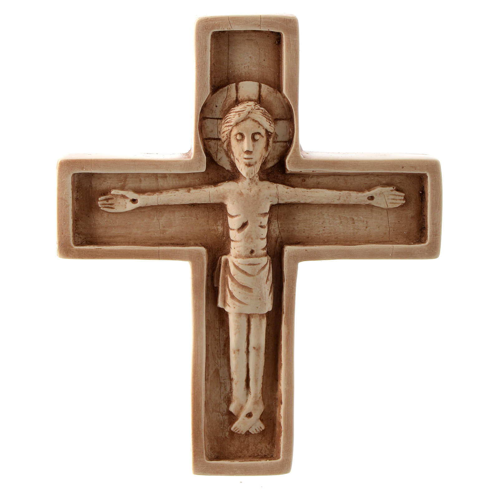 Crocifisso pietra avorio Bethléem Monastero 4
