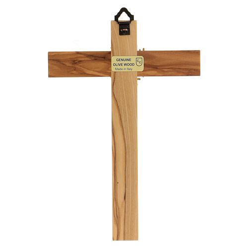 Holy Spirit cross in Olive wood 4