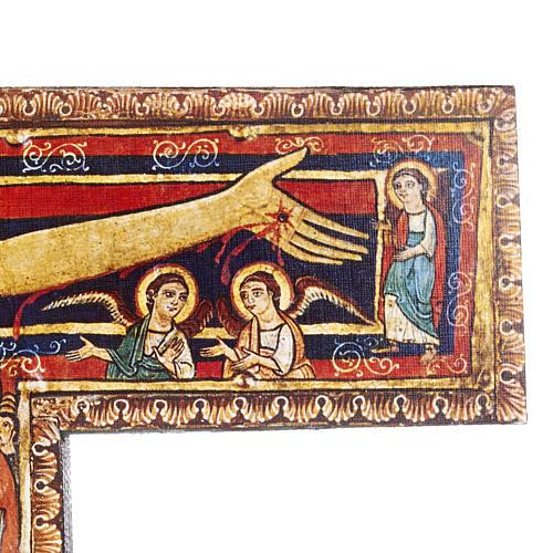 Crucifijo de madera San Damian diferentes tamaños 3