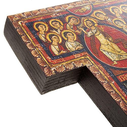 Crucifijo de madera San Damian diferentes tamaños 6